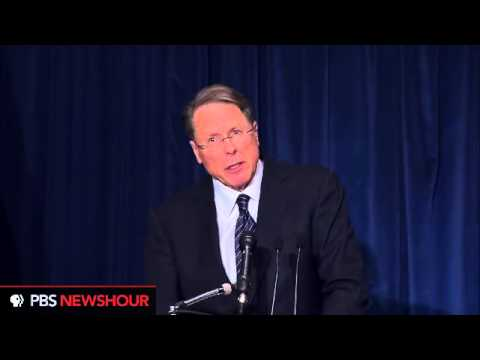 NRA's Wayne LaPierre Calls for Armed Security in Every School