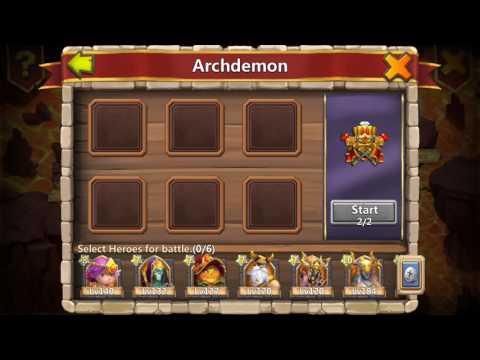 Archdemon 22nd October 2016. Atlanticore Method.