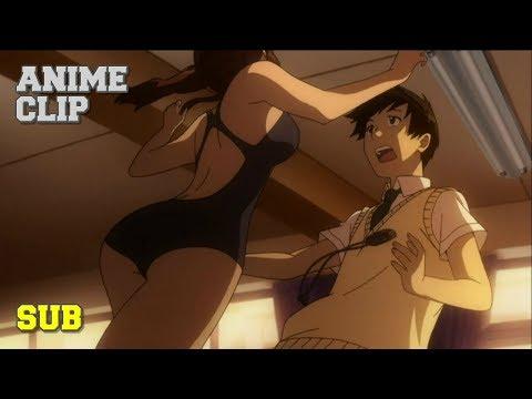 Amagami SS - Sae's Quick Change Training