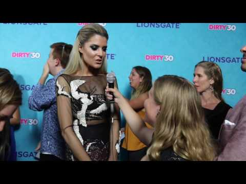 Grace Helbig Interview at Dirty 30 Movie Premiere