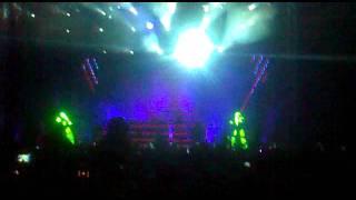 David Guetta @ Hungexpo 2011 - ROBOT DANCE