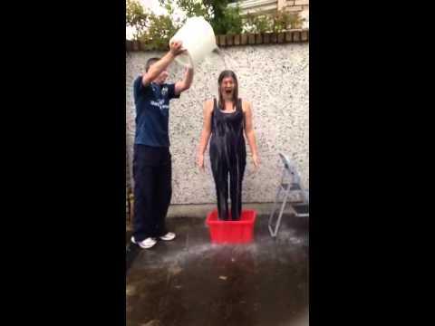 Caroline's Ice Bucket Challenge