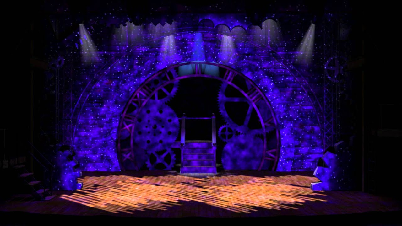 WICKED Musical Dancing Through Life 3D Stage Animation YouTube