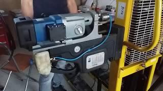 видео Магнитный сверлильный станок BDS MAB 485 (реверс)