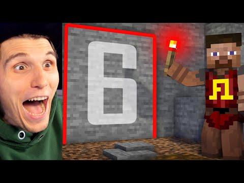 Paluten REAGIERT auf 6 Geheimgänge in Minecraft mit Redstone 🏰