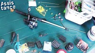 Простая Рыбалка / ЗАКИДУХА с КОРМУШКОЙ для плотвы, карася и подлещика