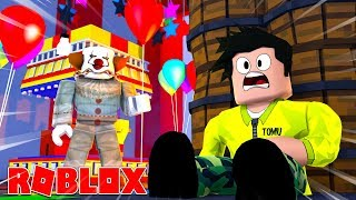 THE CLOWN IS MEAN IN ROBLOX