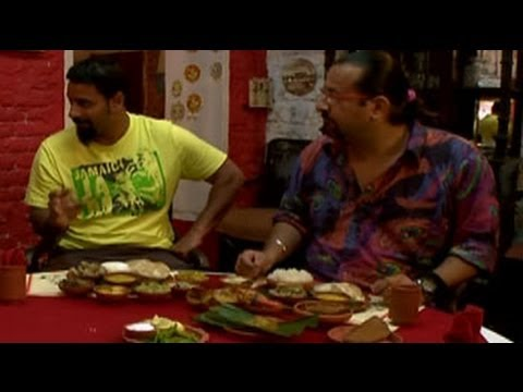 Rocky Mayur's food exploration in Kolkata