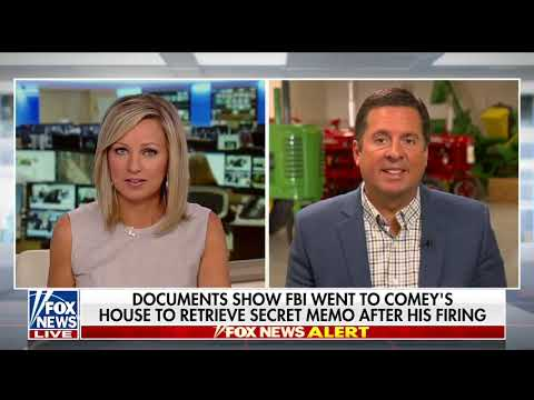 Ranking Member Nunes discusses Comey's leaking of classified information