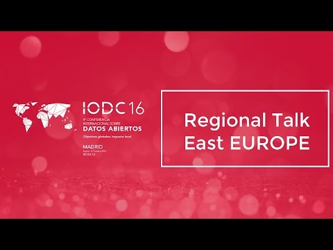 Room D - Regional Talk East Europe - Oct. 6