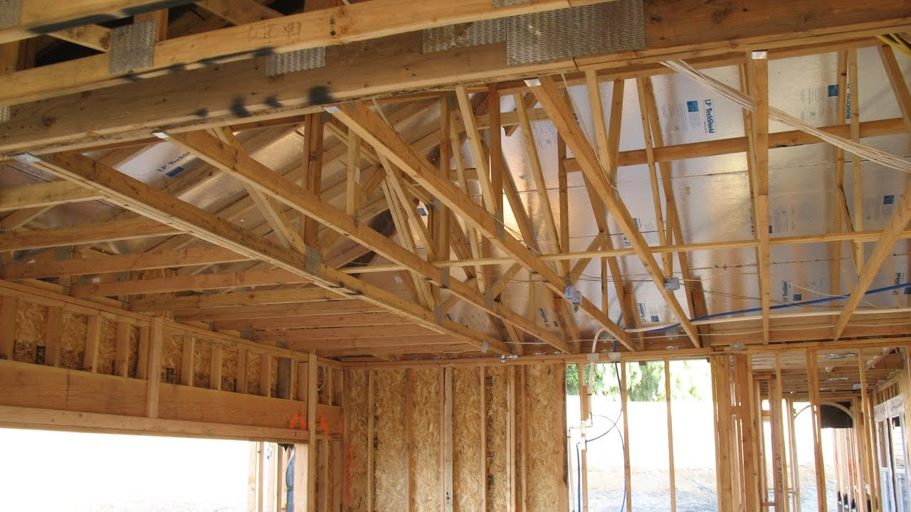 Garage Roof Framing Modifications For Storage When Rafter