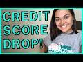 My 800 Credit Score DROPPED!!!