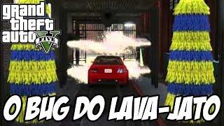 GTA V - O Bug do Lava Jato, Virando um BONECO INVENCÍVEL