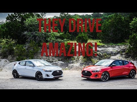 DRIVING THE ALL NEW HYUNDAI VELOSTER
