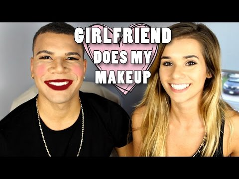 Thumbnail: My Girlfriend Does My Makeup!