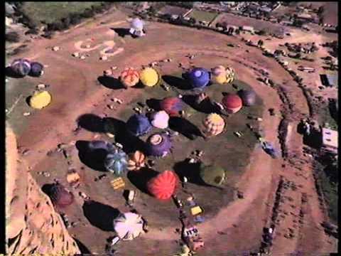 1988 Trans Australia Balloon Challenge (Part 1)