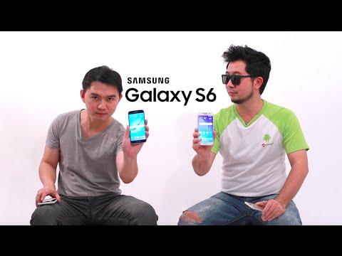 ทดสอบการใช้งานทั่วไป และพัฒนาการของ Samsung Galaxy S6 / Galaxy S6 edge