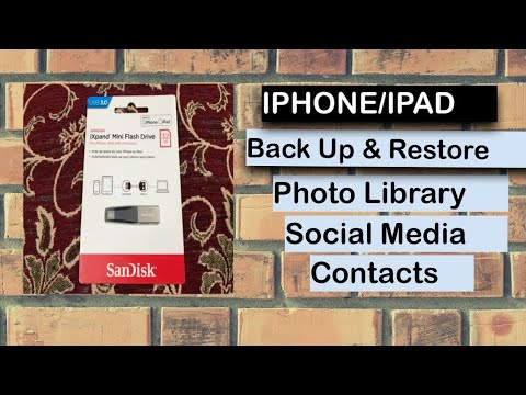 Sandisk Pen Drive For IPHONE IPAD COMPUTERS | iXpand Mini Flash Drive | Unboxing & Review