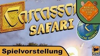 Carcassonne Safari - Brettspiel - Berlin Brettspiel Con 2018