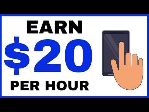 Earn $20 Per Hour With Your Phone