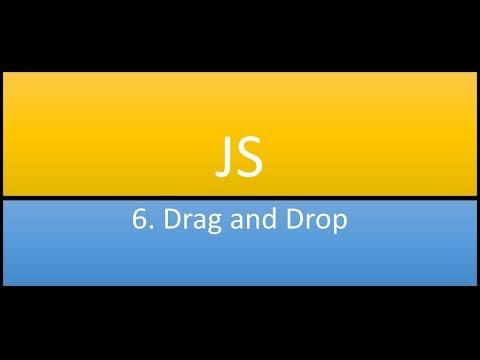 JS #6 Drag and Drop