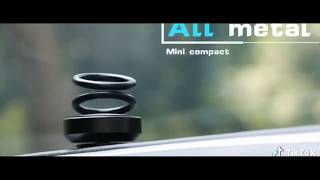 Car Double Ring Rotating Aromatherapy Suspension Auto Air Freshener