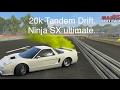 CarX Ninja SX Popcy12 Best Ultimate Setup. 20k Tandem Drift Wilson Race Reverse.