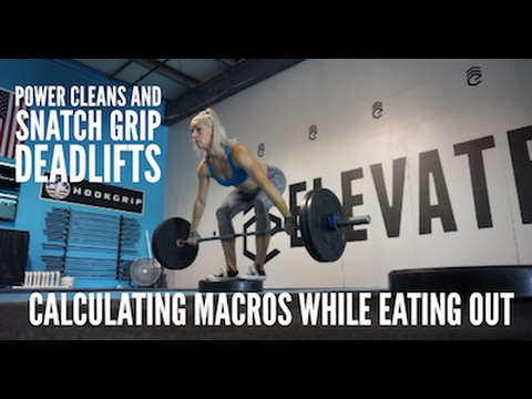Vlog #4: Power clean doubles, strength work and Yaya's chicken for post workout GAINZ!