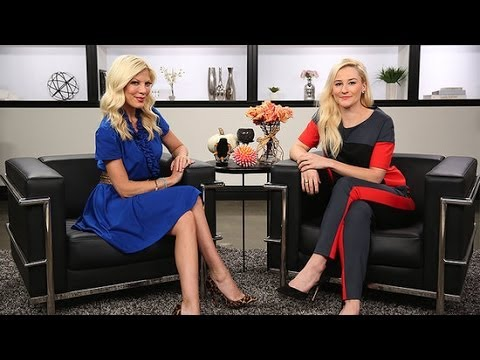 Tori Spelling Talks Reuniting With a 90210 Costar and Reality Show Life| POPSUGAR Interview