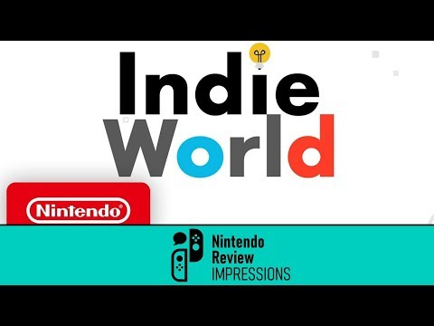 [Nintendo Review IMPRESSIONS] Indie World Live Reactions