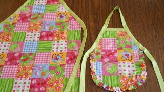 How To Make Aprons Without Pattern
