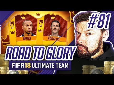 THIS TEAM IS UNREAL! - #FIFA18 Road to Glory! #81 Ultimate Team