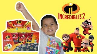 Incredibles 2 SURPRISE TOYS, Jack Jack, Mr. Incredible, Mrs. Incredible, Dash, Elastigirl, Frozone,