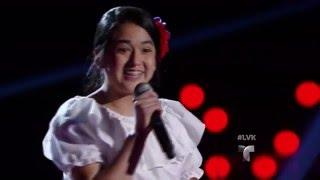 Sofía deja impactados a todos con su audición  | Audiciones | La Voz Kids 2016
