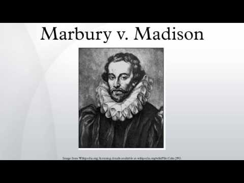 a report on the case of marbury vs madison Marbury v madison on february 24, 1803 chief justice john marshall and the rest of the supreme court decided on the seemingly insignificant case of marbury v madison while ruling the judiciary act of 1789 unconstitutional, judicial review was established granting the supreme court the power to.