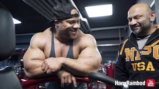 Hany and Phil Heath crush a FST7 shoulder Workout