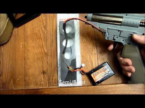Bravo RDW ROF Test w/ Systema High Speed Gears