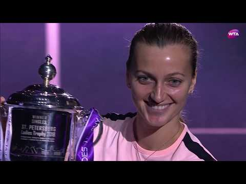 2018 St. Petersburg Open Final | Kristina Mladenovic vs. Petra Kvitova | WTA Highlights