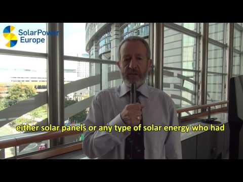 100 GW of Solar Celebration - MEP Sean Kelly