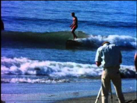 Topanga Beach The Living Curl 1965 w Miki Dora