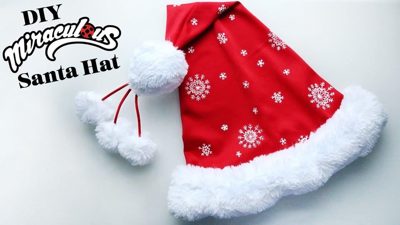 bd7acde5e69b7 DIY Miraculous Santa Hat - YouTube