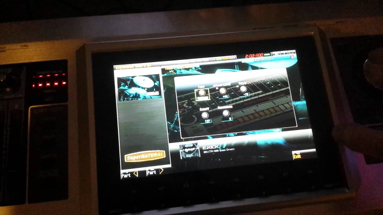 Use Fantom G ARX-01 Drums as TR-808 Style Sequencer