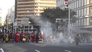 2012年10月20日、第58回名古屋まつり を見に行ってきました。 名古屋の栄交差点にて、小牧・長久手の戦い を再現!