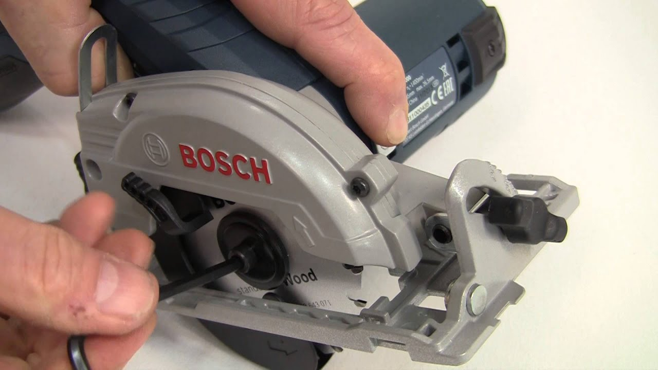 bosch gks 10 8 v li professional cordless circular saw youtube. Black Bedroom Furniture Sets. Home Design Ideas