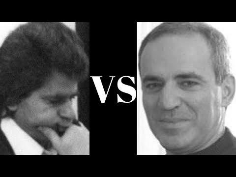 Amazing Game: Garry Kasparov vs Boris Spassky - Linares 1990 - Nimzo-Indian Defense (E34)