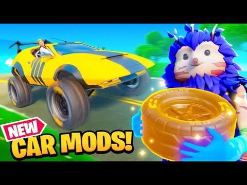 FORTNITE CAR MODS! (New Update)