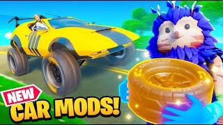 FORTNITE CAR MODS! (New Update)