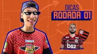DICAS PARA RODADA 1 DO CARTOLA FC #CARTOLIZO