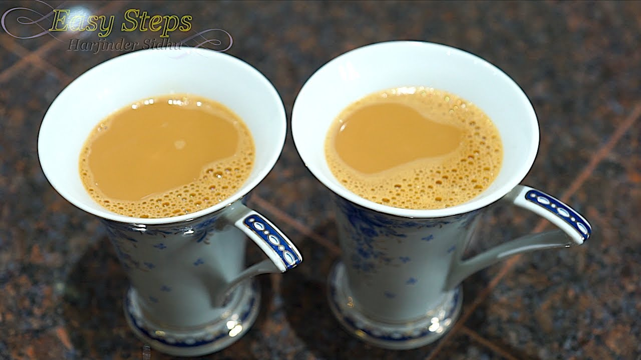 How to make chai green tea with milk — photo 1