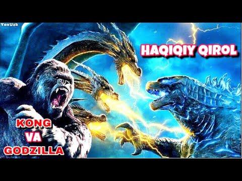 GODZILLA: Maxluqlar Qiroli. TAHLIL. Godzilla Kongga qarshi